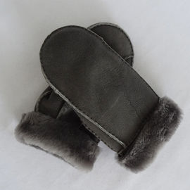Real Sheepskin Customized Mitten Lambskin Gloves Winter Sheepskin mitten Gloves